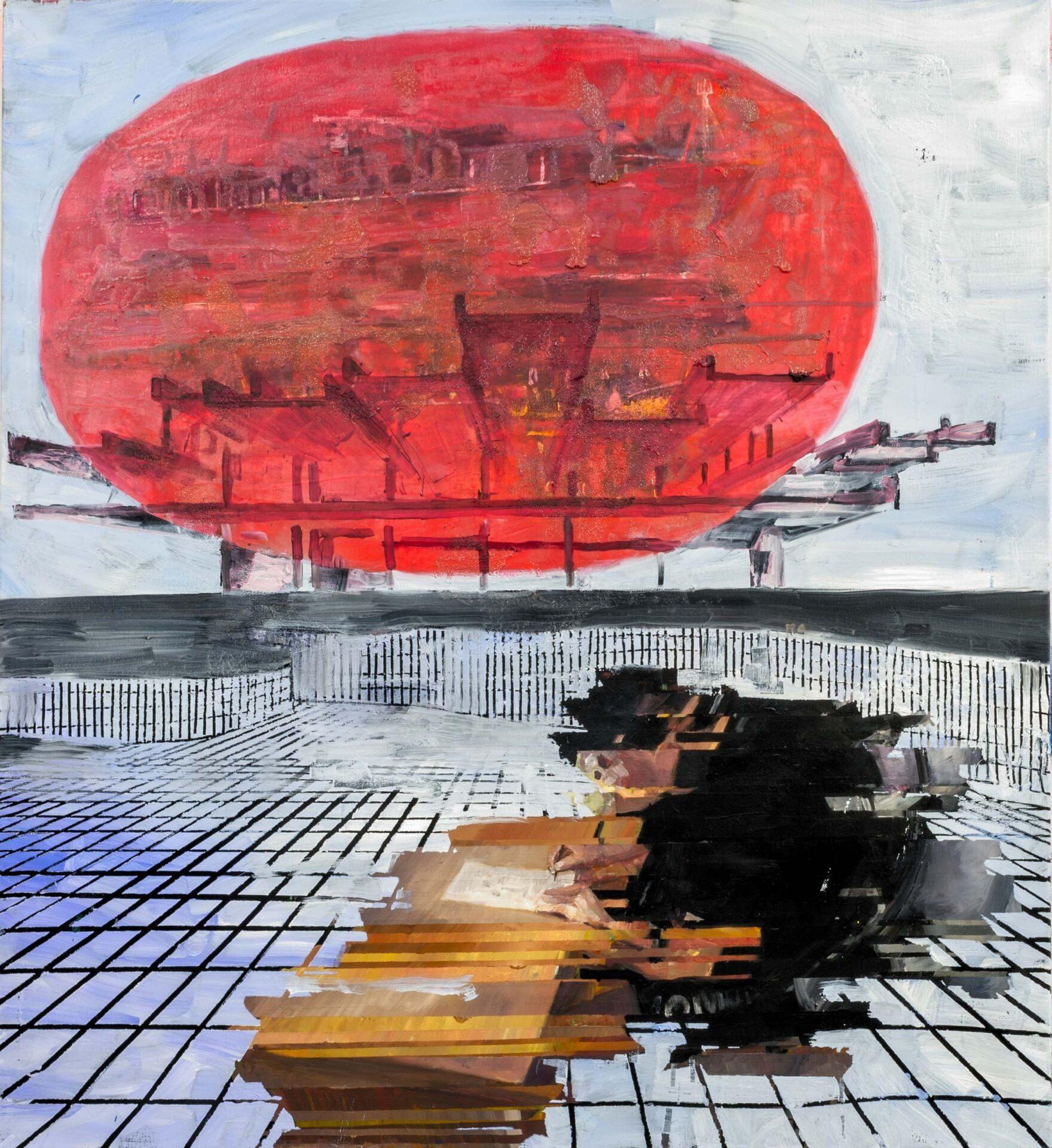 Painting by Erik Sigerud