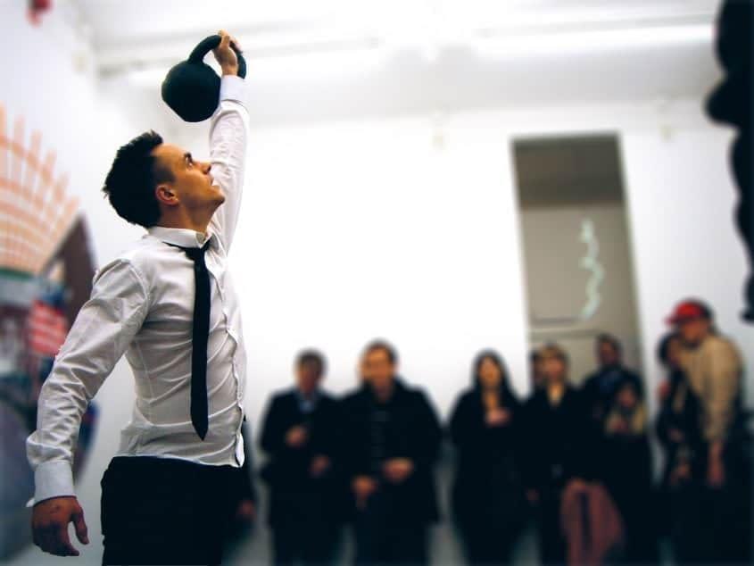 Performance by Erik Sigerud