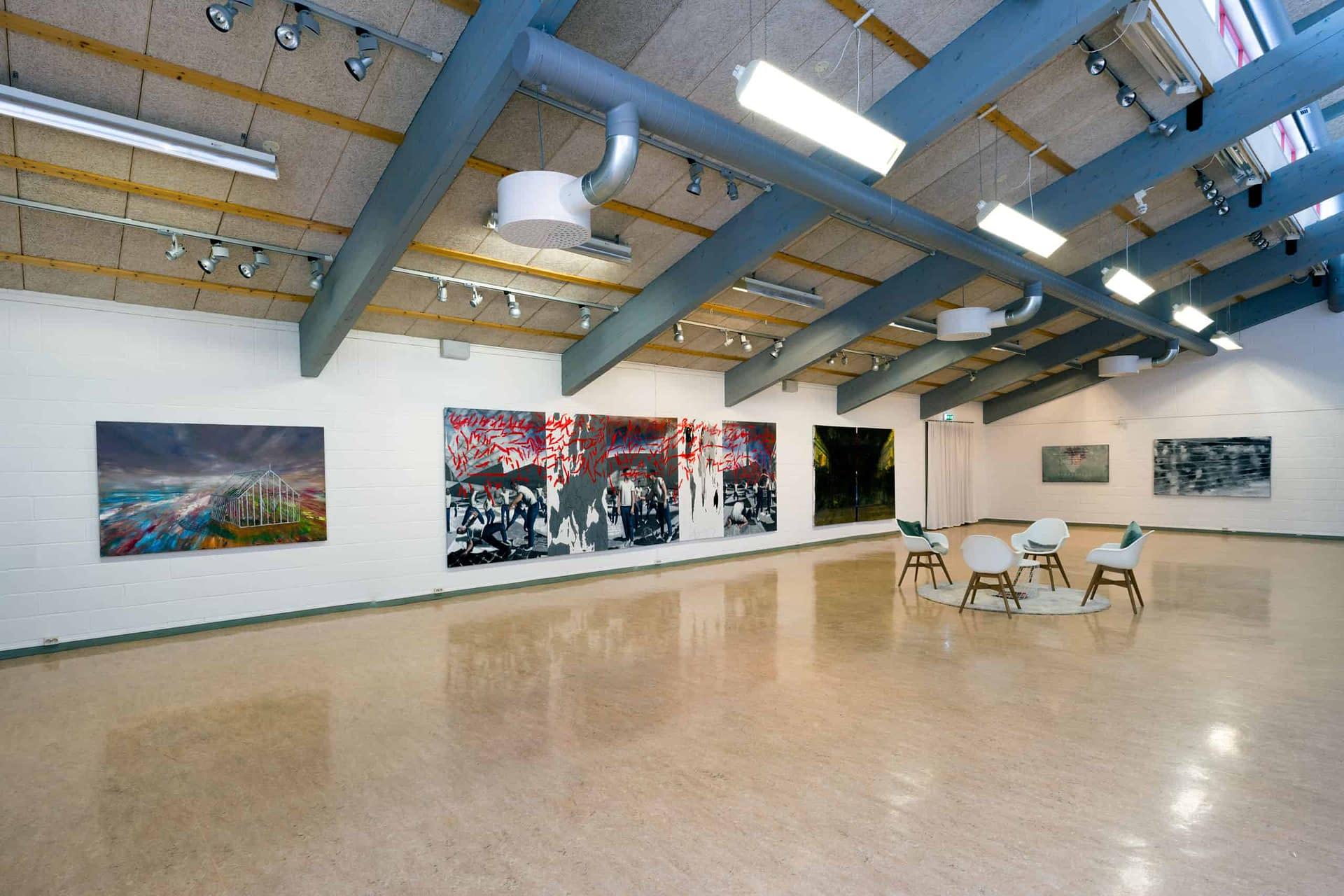 Exhibition by Erik Sigerud